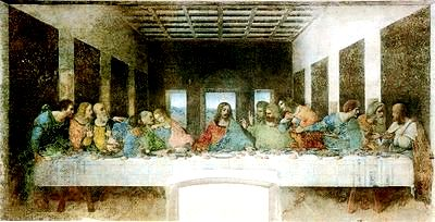 last supper by leonard da vinci