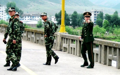North Korea border