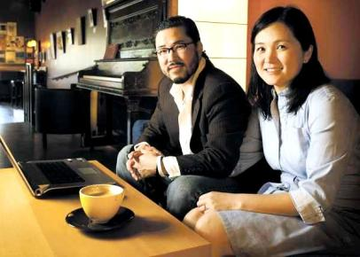 Eugene & Minhee Cho, co-founders of One Day's Wages