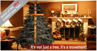 its not just a tree its a movement - Cross Christmas Tree