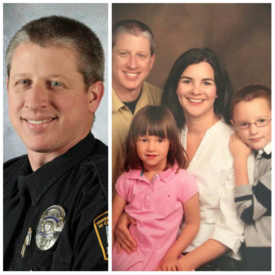 Garrett Swasey: Christ Follower, Son, Husband, Father, Pastor, and Police Officer. We see you. We honor you.